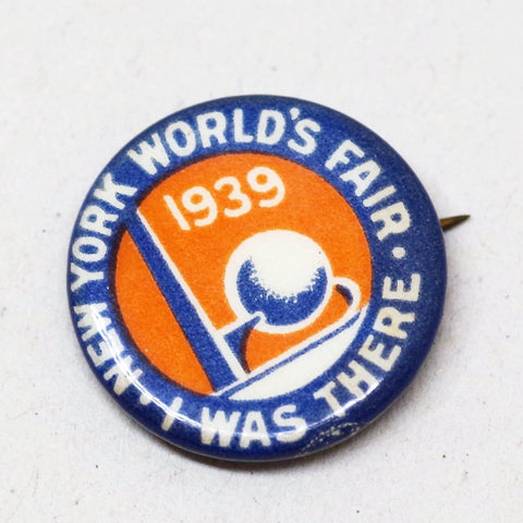 1939 New York World's Fair Souvenir Pin