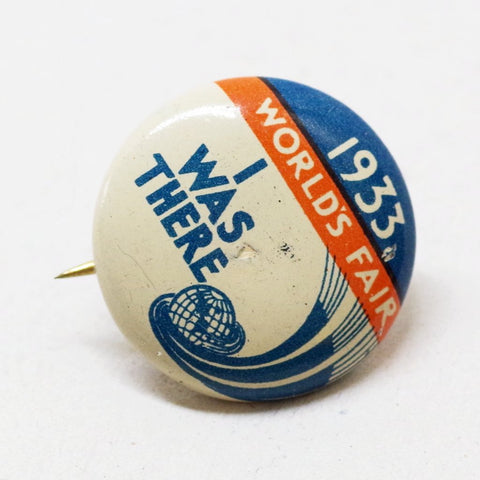 1933 Chicago World's Fair Souvenir Pin