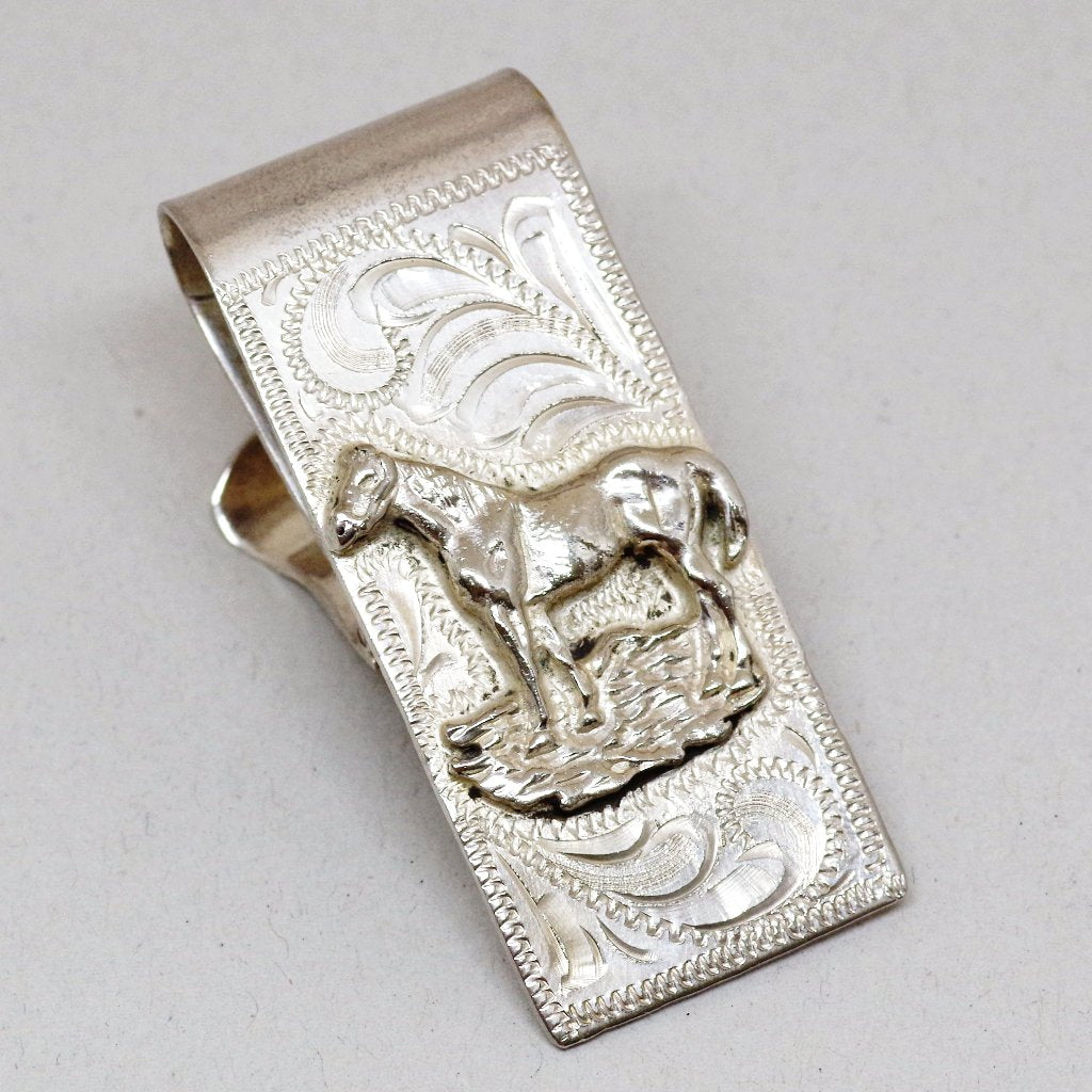 Hinged Horse Money Clip