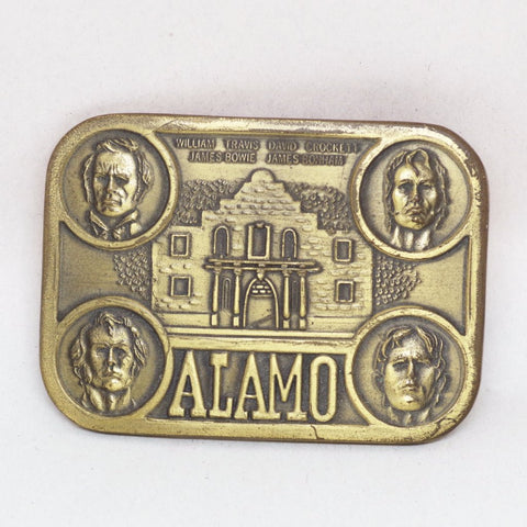 Heroes of the Alamo Belt Buckle
