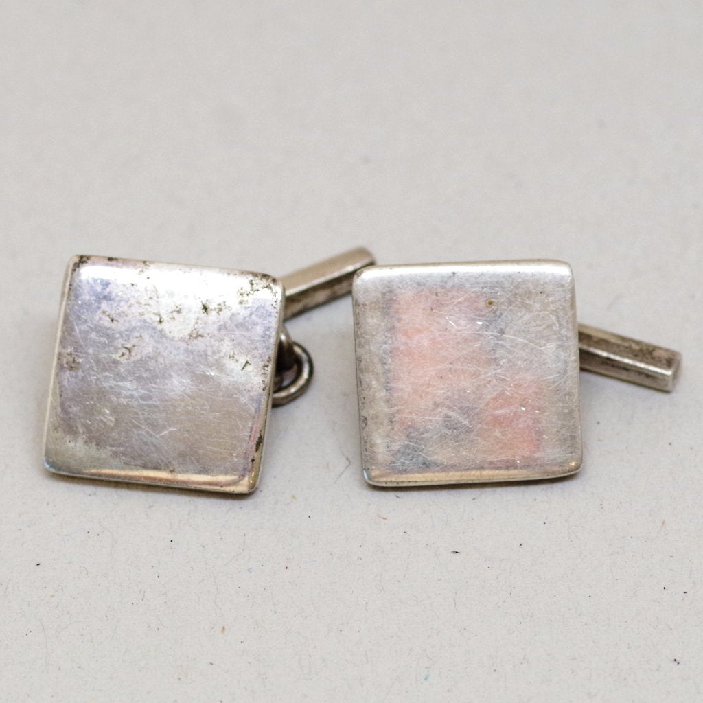Sterling Modern Square Cufflinks