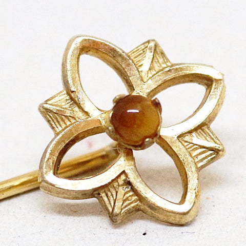 9kt Gold Blooming Stick Pin