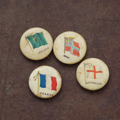 Vintage Flags of Europe Pins