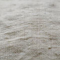 Antique French Homespun White Linen Scarf by Put This On