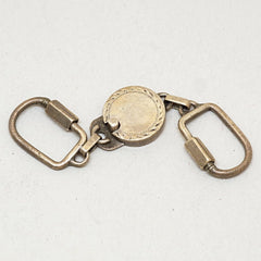 Sterling Mexican Silver Detachable Key Fob