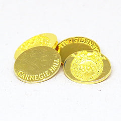 18k Gold Asprey Carnegie Hall Cufflinks