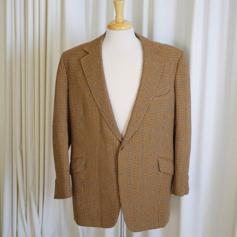 Brown Houndstooth Sport Coat- 42R