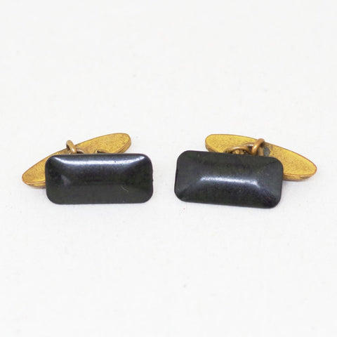 Black Gem Cufflinks