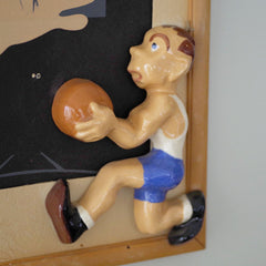 1950s Basketball Star Picture Frame