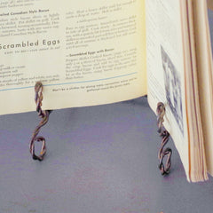 Braided Wire Book or Picture Frame Stand