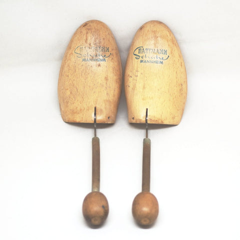 Vintage Foldable Spring Shoe Trees