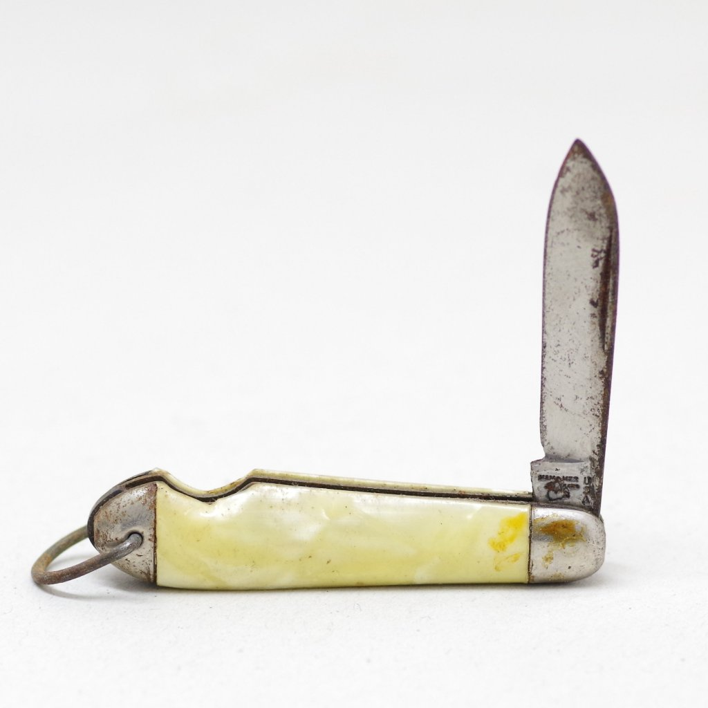 Small Pearl Colored Pocket Knife