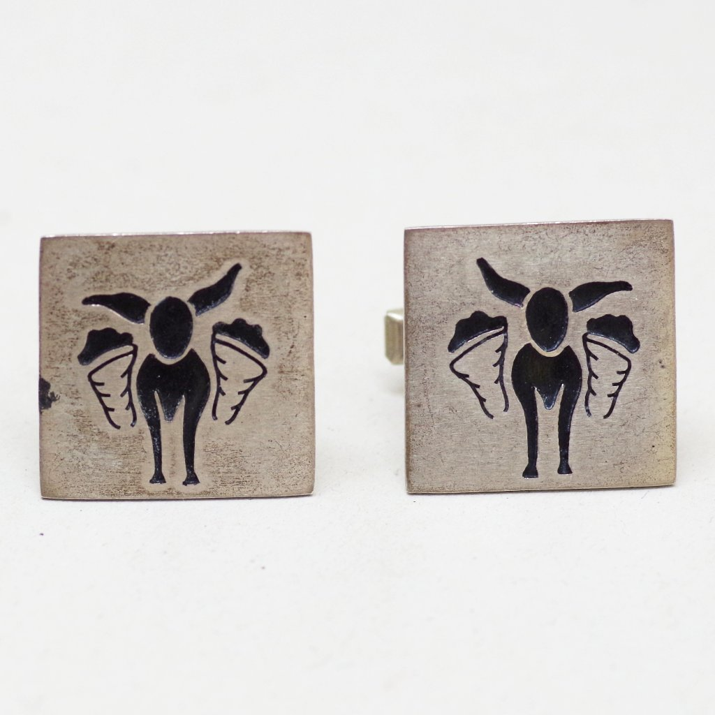 Taxco Sterling Burro Cufflinks