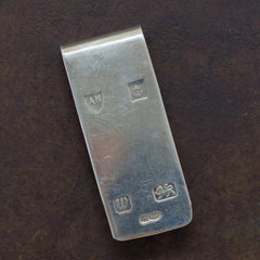 Sterling Large Hallmarked Money Clip
