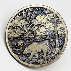 Commemorative Western State Belt Buckles