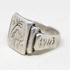 WWII Tunis Trench Art Ring
