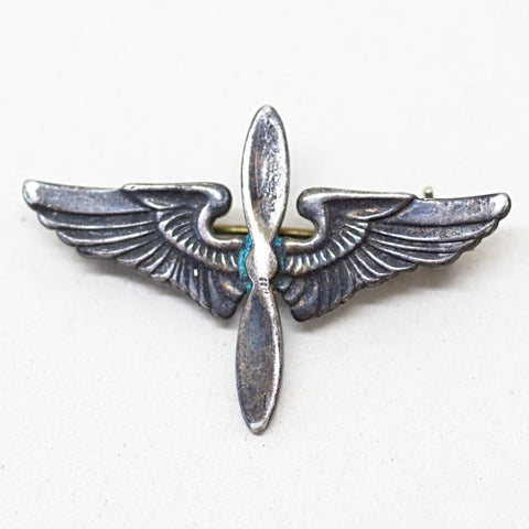 1940s Sterling Army Air Force Pin
