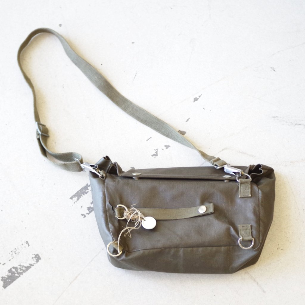 Rubberized Shoulder Bag