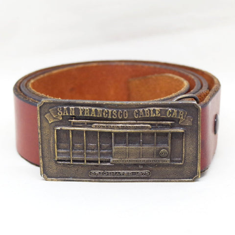 San Francisco Cable Car Belt- 40/42