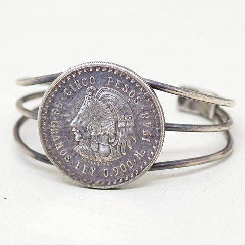 Five Peso Coin Cuff