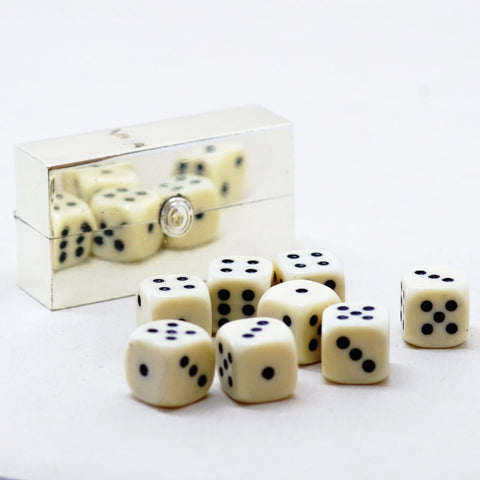 Vintage Eight Pack Case of Dice