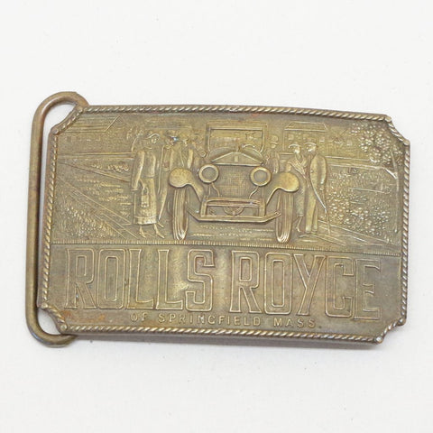 Rolls Royce Belt Buckle