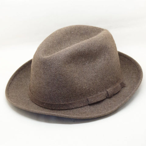 Vintage Lock & Co. Grey Trilby - S