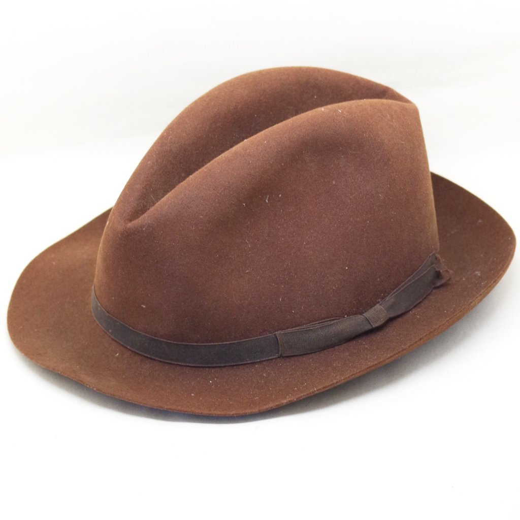 Vintage Lock & Co. Light Brown Fedora- S