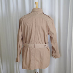 Vintage 1980s  Banana Republic Safari Jacket- Fits M/L (Marked Small)