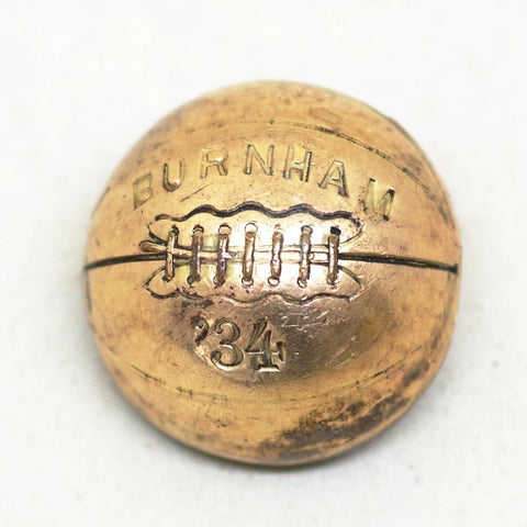 1930s Basketball Screw Back Pin