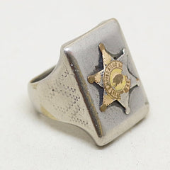 1950s Biscaliuz Police Academy Ring