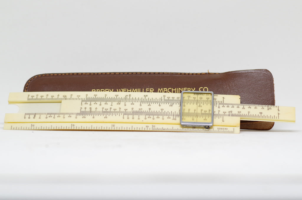 Mid-Century Barry-Wehmiller Machinery Co. Slide Rule Set