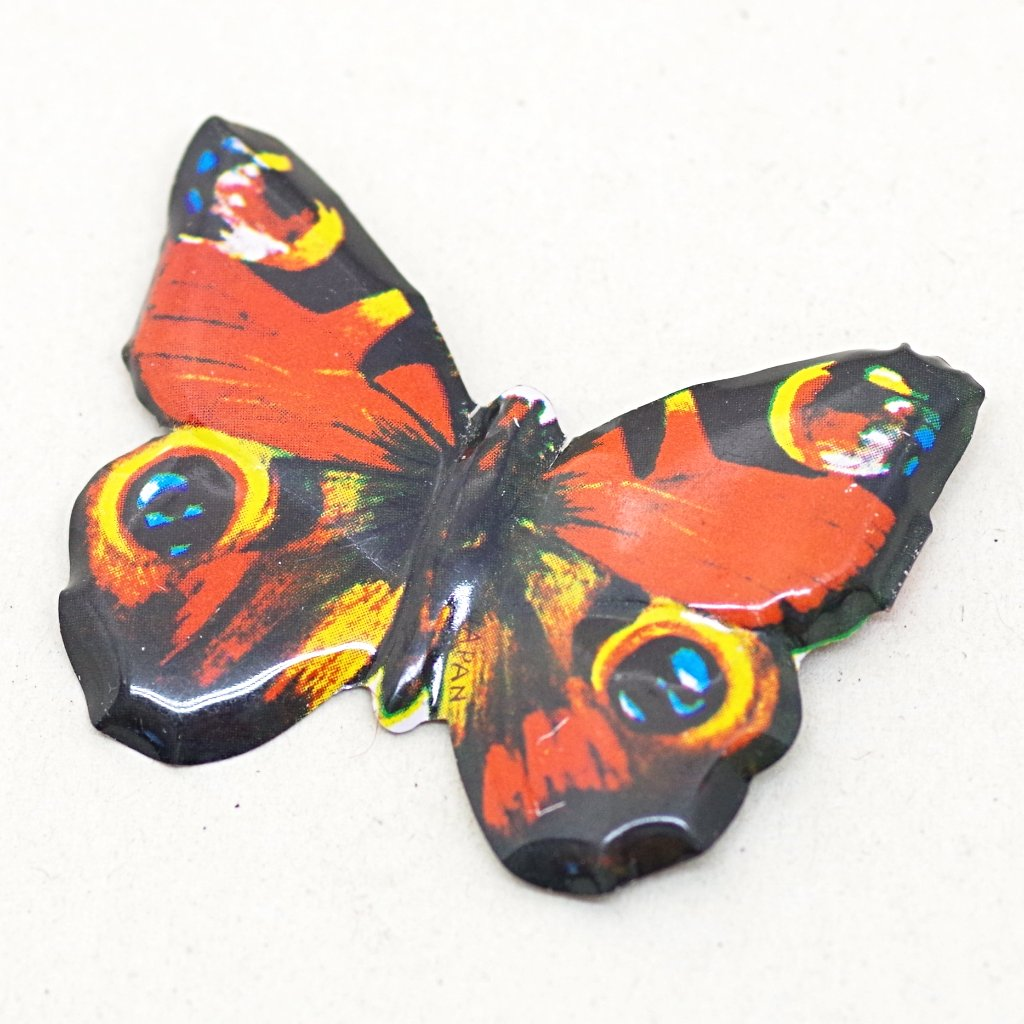 Vintage Tin Butterfly Pin