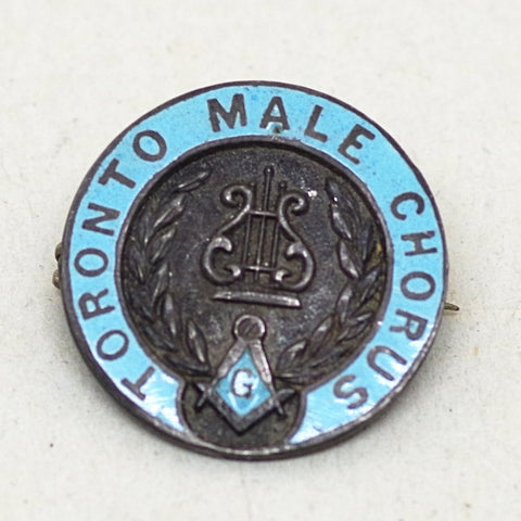 Sterling Toronto Male Chorus Pin
