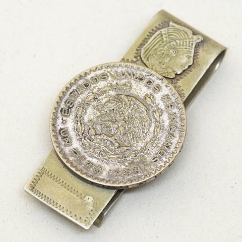 Mexican Peso Money Clip