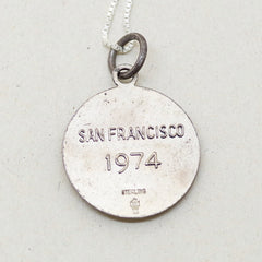 Sterling San Francisco Cable Car Charm