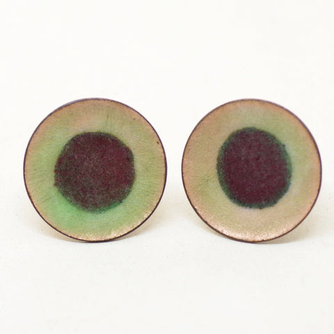 Earthy Enamel Cufflinks