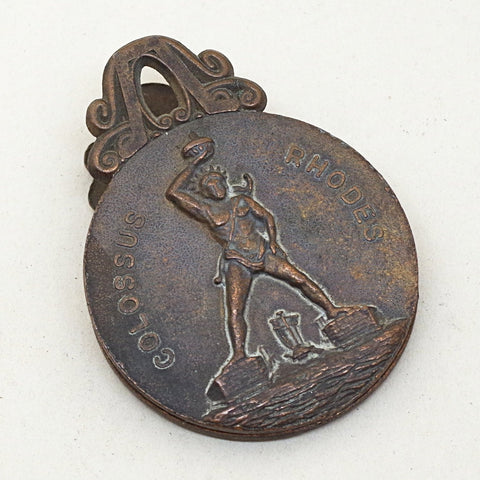 Colossus of Rhodes Souvenir Iron Clip
