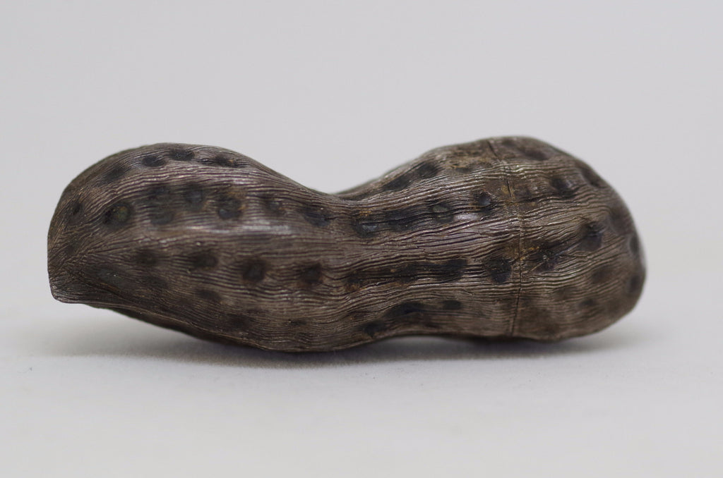 Sterling Silver Peanut Shaped Vesta Case