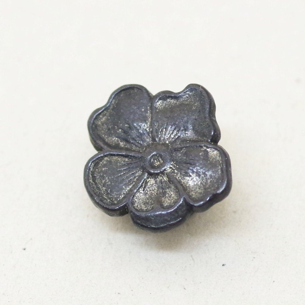 1920s Flower Stud Lapel Button / Pin