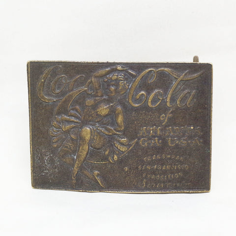 Big Coca Cola Buckle