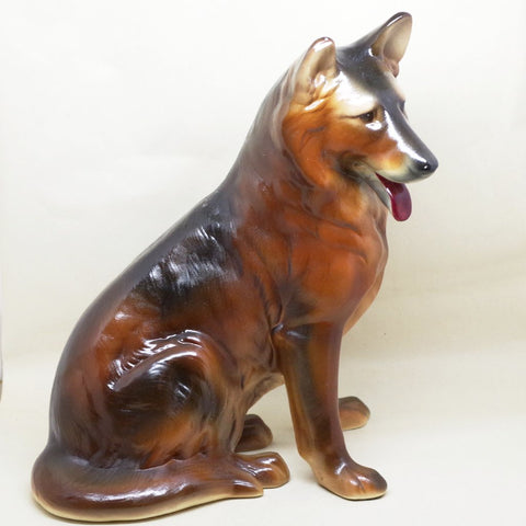 Big German Shepherd Statue