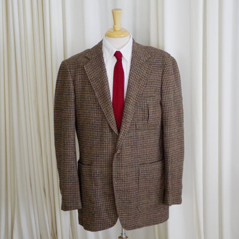 Vintage Tweed Brooks Brothers Hunting Jacket- 54