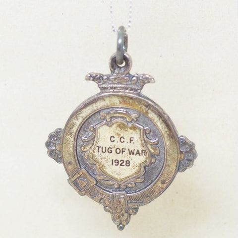 Silver 1928 CCF Tug of War Medal