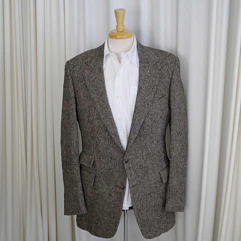 Vintage Polo Ralph Lauren Donegal Tweed Sport Coat- 40L