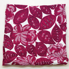 Rich Purple Leaf Rayon Pocket Square by Put This On