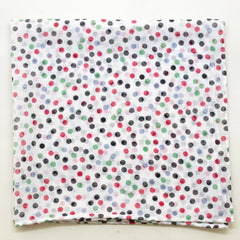 Cheery Dotted Cotton Pocket Square by Put This On