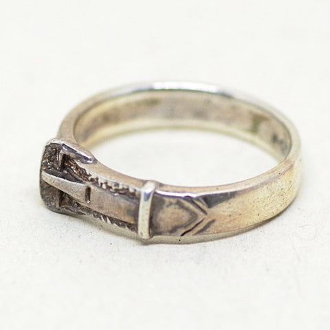 Sterling Belt Ring