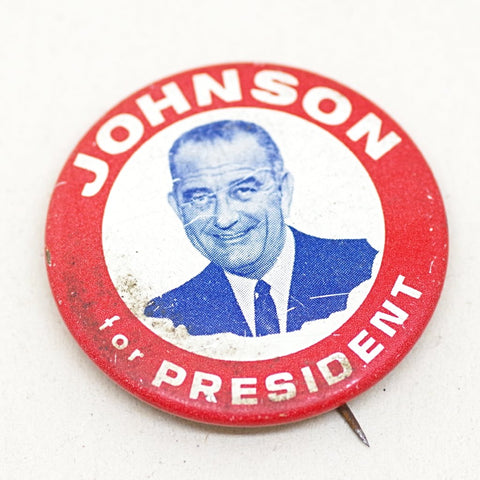 LBJ Booster Pin