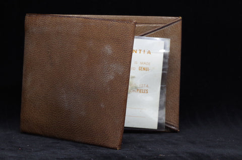 Vintage Pymsa Mexico Brown Leather Wallet